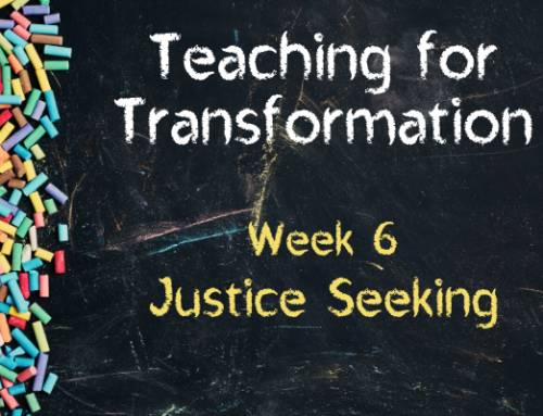 TfT Week 6 – Justice Seeking