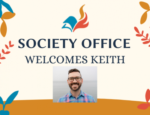 Welcome Keith!